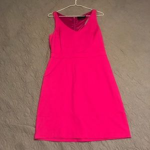 NWOT hot pink mini dress